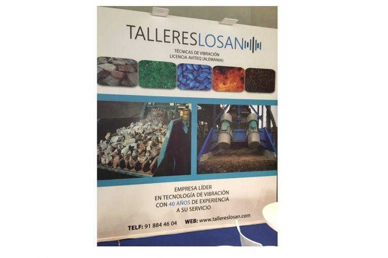 Exposición de productos para el sector áridos